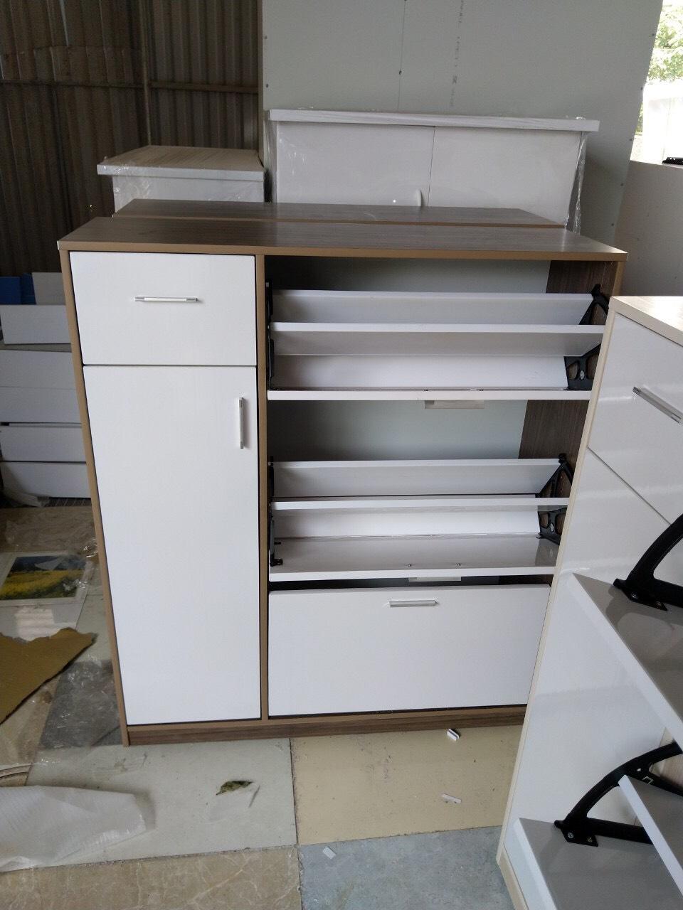 Tủ Giày Thông Minh Nhựa Đài Loan