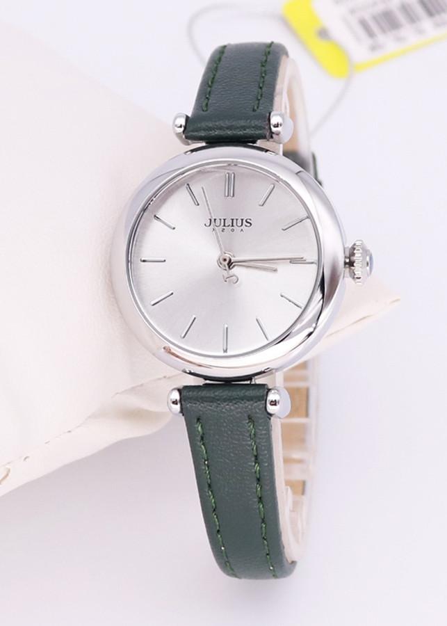 Đồng hồ Julius dây da Hàn Quốc JA-1018