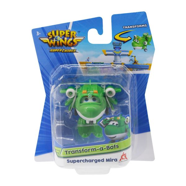 Đồ chơi mô hình SUPERWINGS Đồ chơi Robot Biến Hình Cỡ Nhỏ Mira siêu cấp YW740048