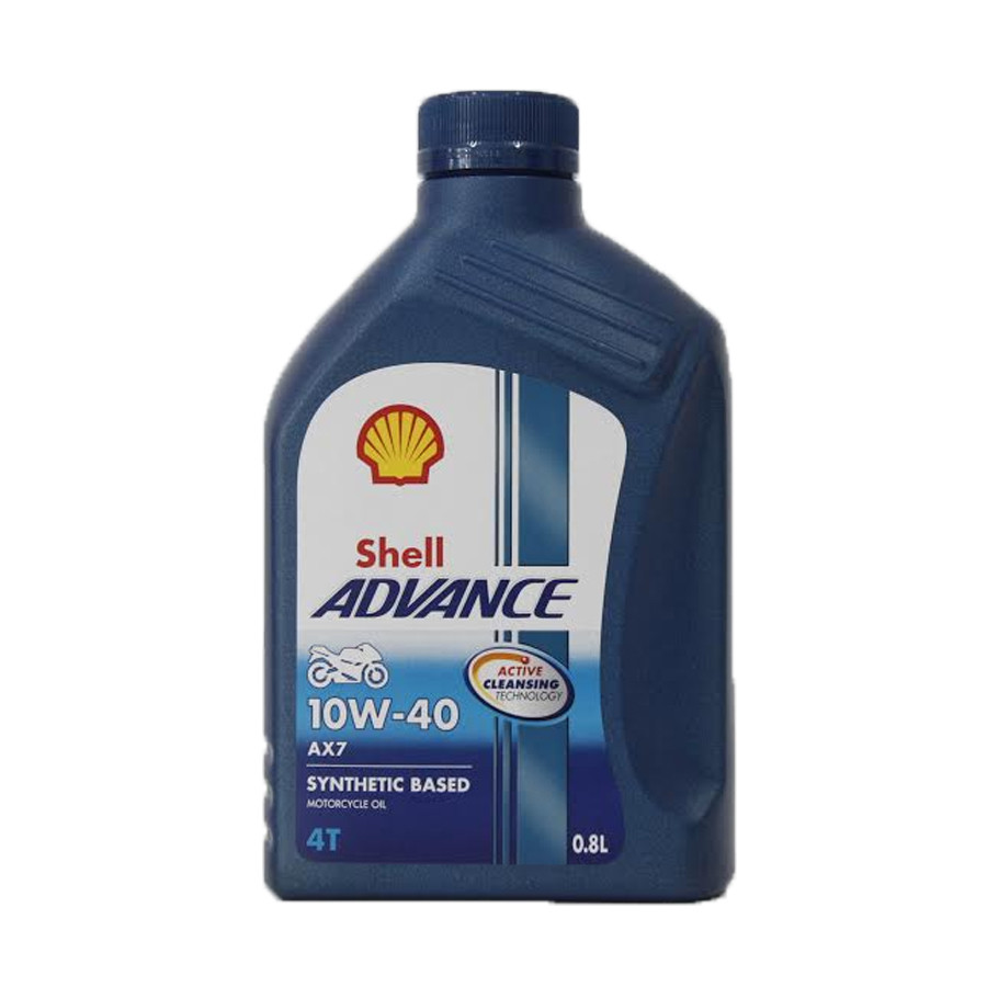 Nhớt Shell Advance 4T AX7 10W40 Synthetic Based (800ml)