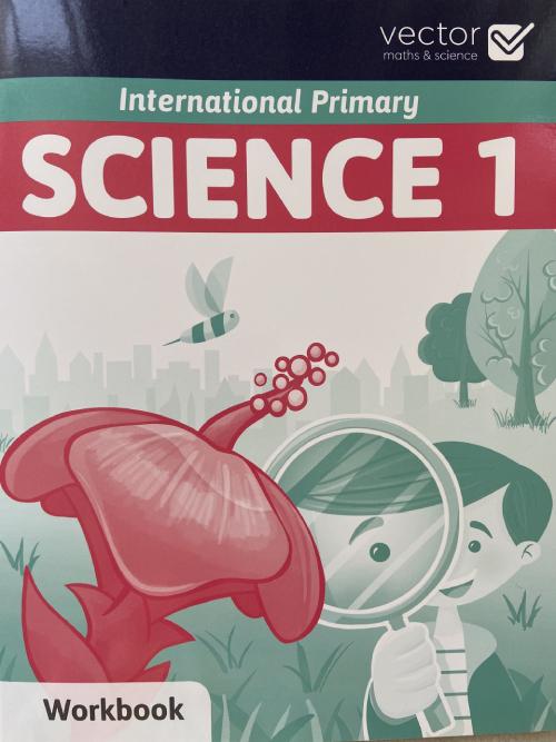 Vector: Sách hệ Cambrige - Học khoa học bằng tiếng Anh - Science 1 Workbook
