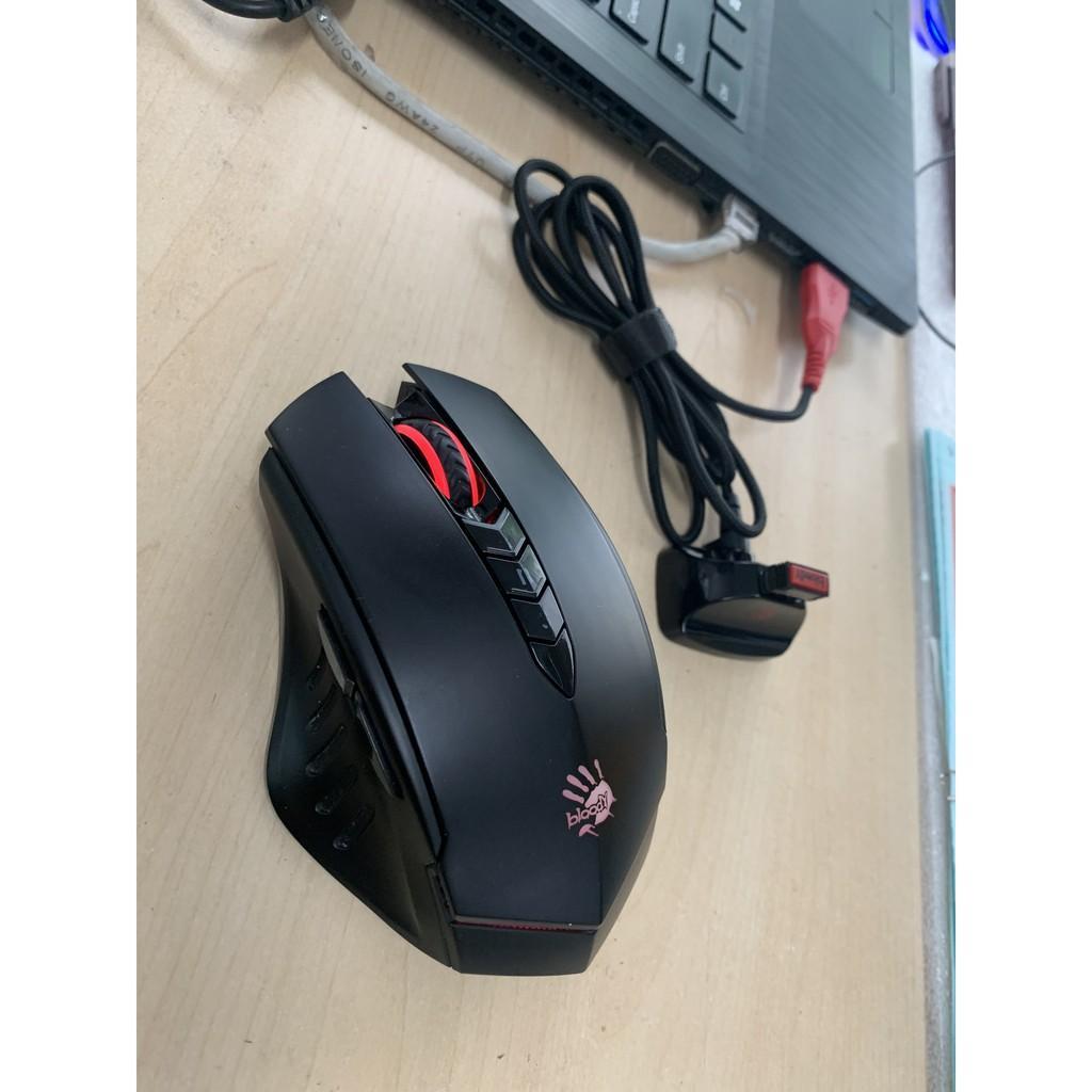 Mouse game không dây R80, chuột chơi game không dây giá tốt, chuột không dây chính hãng