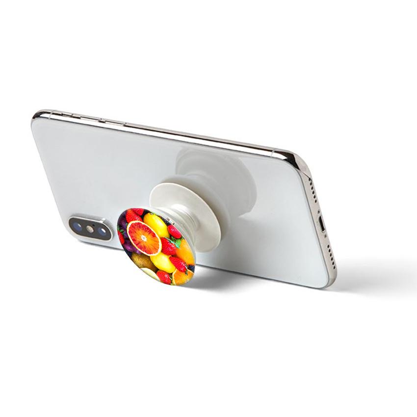 Gía đỡ điện thoại đa năng, tiện lợi - Popsockets - In hình FRUIT - Hàng Chính Hãng