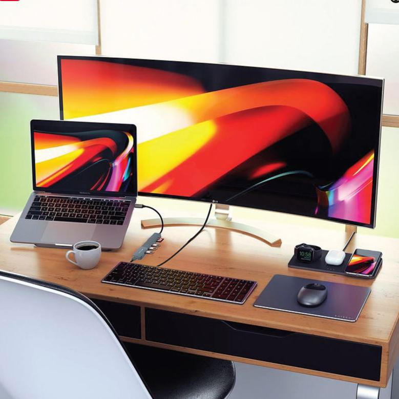 HUB Cổng Chuyển Đổi Mazer Infinite.HUB Pro 6-in-1 USB-C - Hàng Chính Hãng