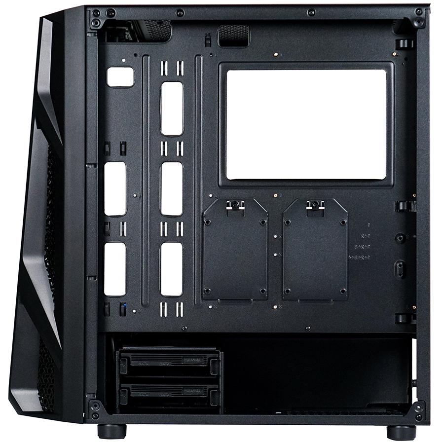 Vỏ Case máy tính AEROCOOL NIGHT HAWK - KÍNH CƯỜNG LỰC - Hàng Chính Hãng
