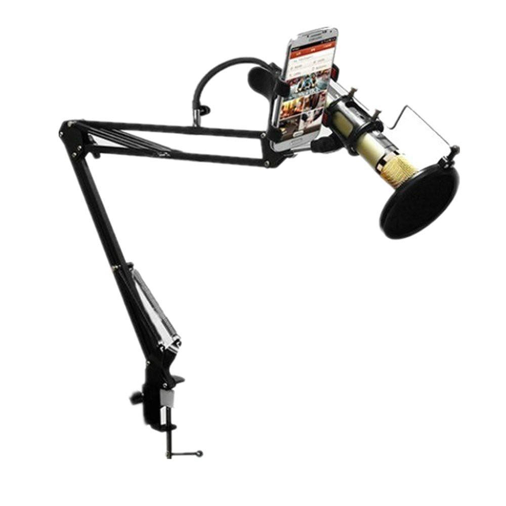 GIÁ ĐỠ MIC THU ÂM - Chân kẹp bàn Microphone