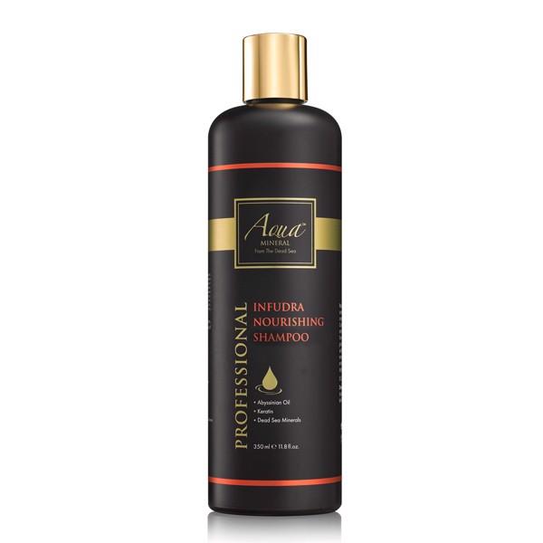 Dầu gội nuôi dưỡng và phục hồi tóc dành cho tóc hư tổn Aqua Mineral