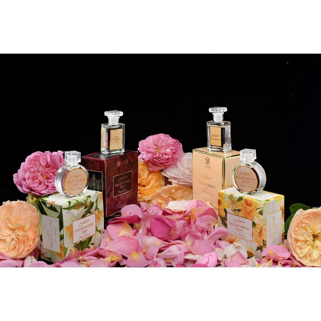 Nước hoa Eau De Parfum Laco Hương thơm nhẹ nhàng, thiết kế tinh tế sang trọng dành cho cả nam và nữ