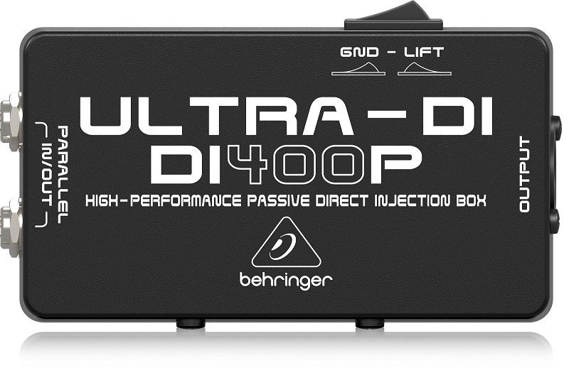 Hộp xử lý tín hiệu Behringer DI400P - High-Performance Passive DI-Box- Hàng Chính Hãng