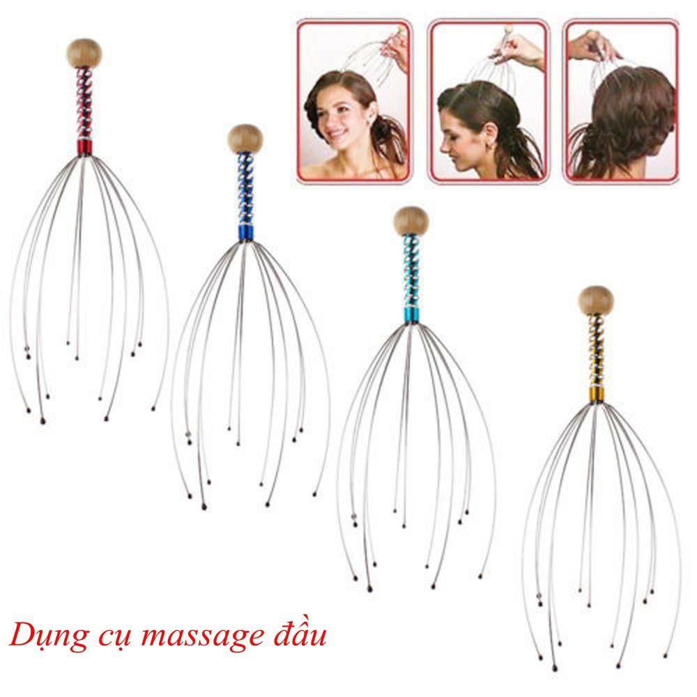 Dụng cụ massage đầu bằng tay thư giãn