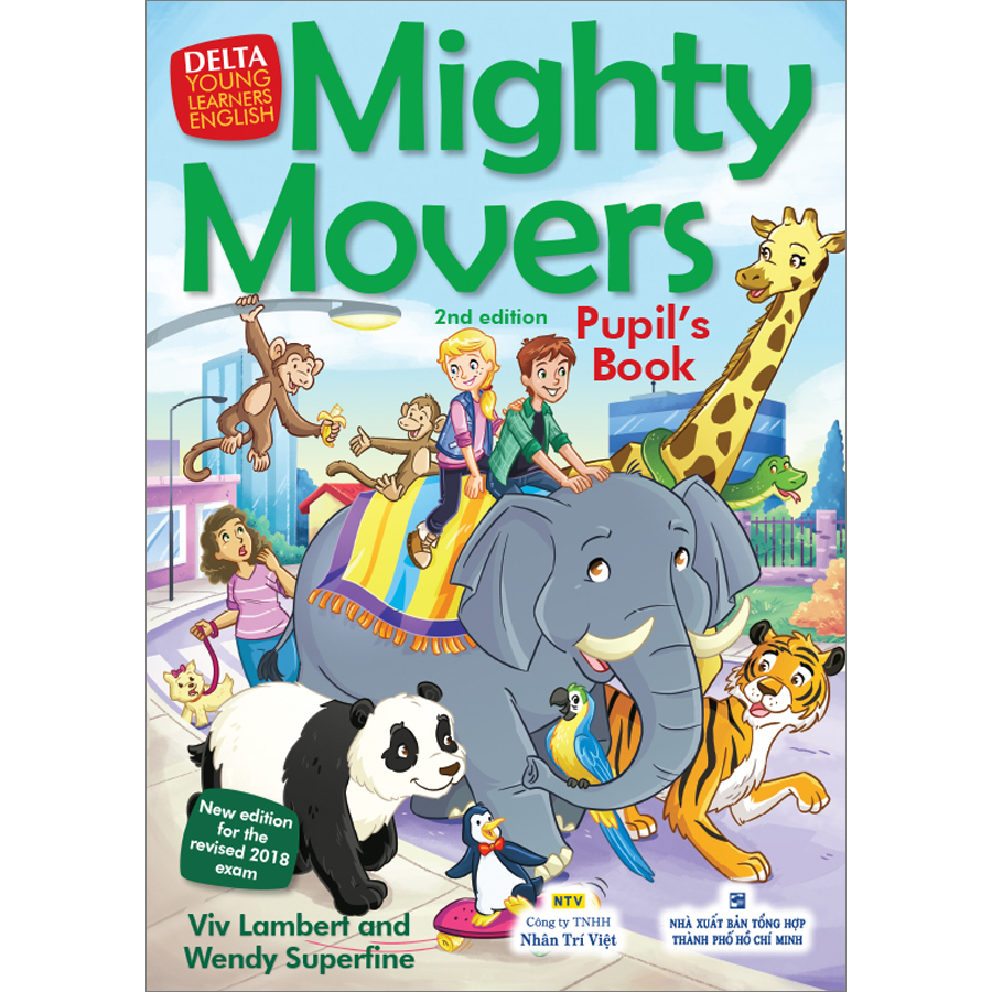 Mighty Movers 2nd Edition - Pupil's Book (Kèm CD Hoặc File MP3)