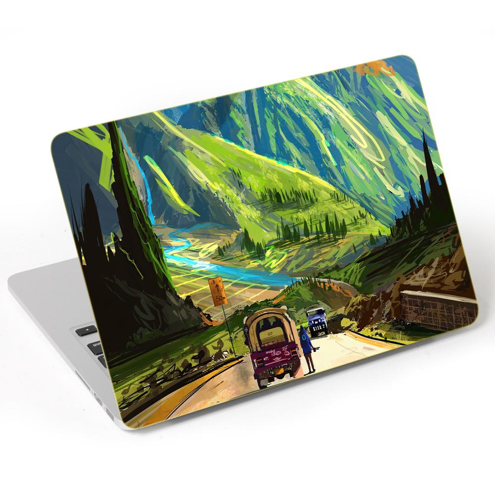 Mẫu Dán Skin Trang Trí Mặt Ngoài + Lót Tay Laptop Thiên Nhiên LTTN - 217