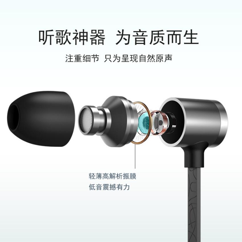 Tai nghe nhét tai cao cấp New4all Wutsun J3S dùng cho iPhone 5s /6/6 Plus/6s/6s Plus/ Ipad/ Apple EarPods (Màu ngẫu nhiên) - Hàng Chính Hãng