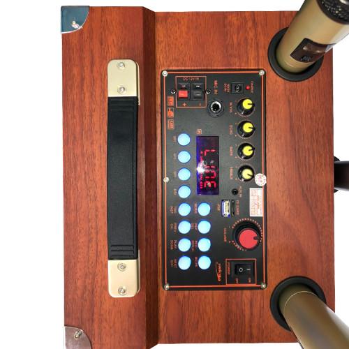 Loa Kéo Di Động Kết Nối Bluetooth JAGUMAX K-S252, Bass 25cm (Chính Hãng Sản Xuất Tại Việt Nam)
