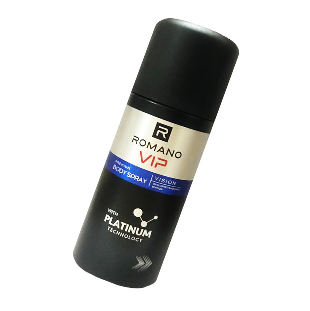 Xịt Ngăn Mùi Nước Hoa Cao Cấp Romano Vip Vision 150ml/chai