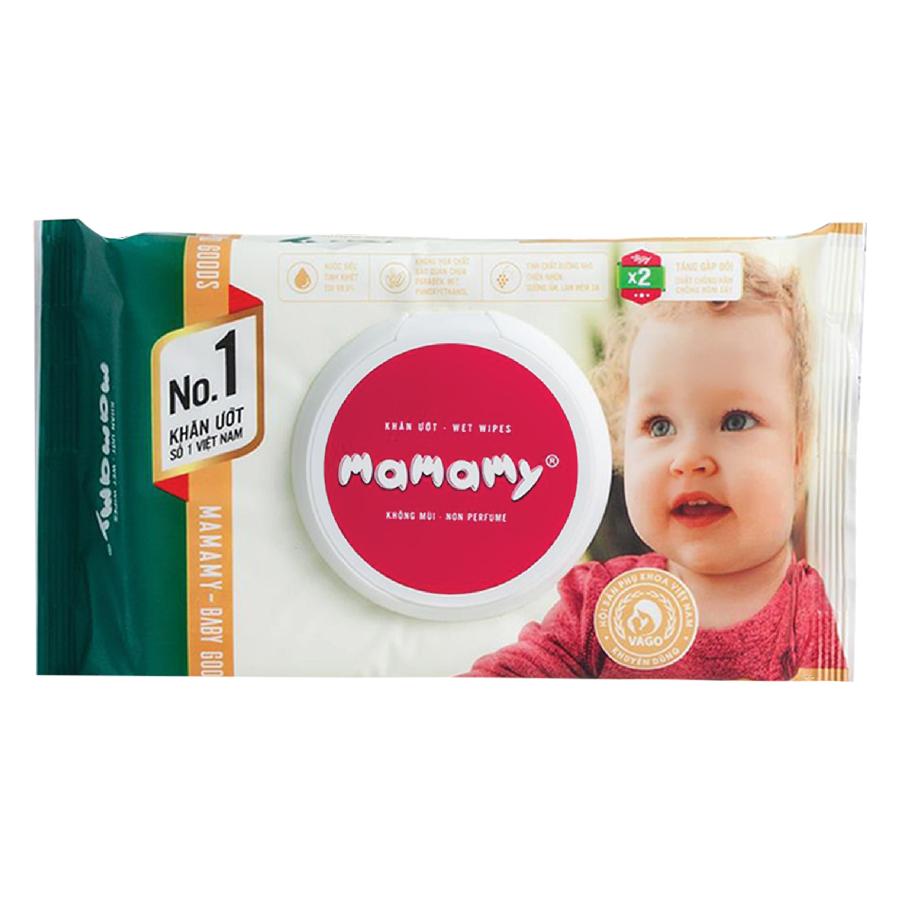 Combo 6 Gói Mamamy 80 Tờ Không Mùi (80 Tờ x 6)