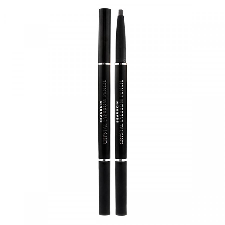 Chì kẻ chân mày không lem dạ bút mềm dễ vẽ rõ nét không trôi Beauskin Crystal Auto Eyebrow Pencil, Hàn Quốc 3g