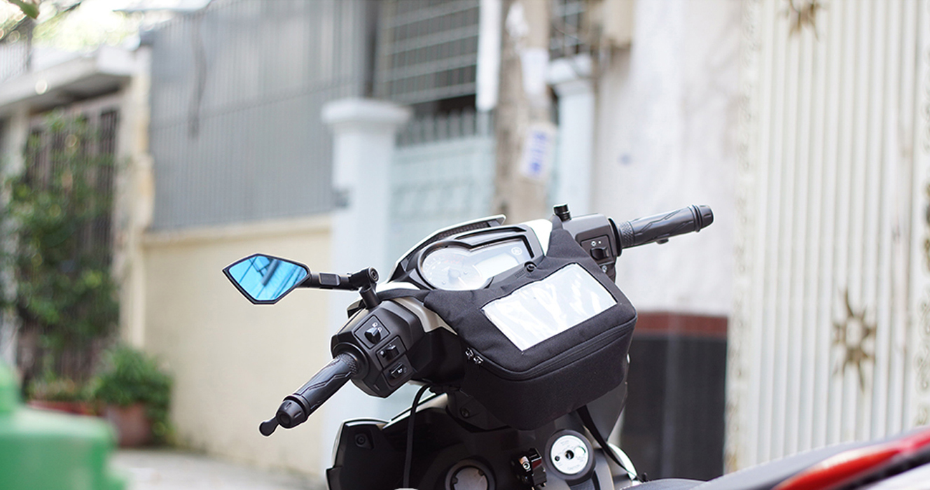 Túi treo đầu xe máy mẫu mới siêu bền