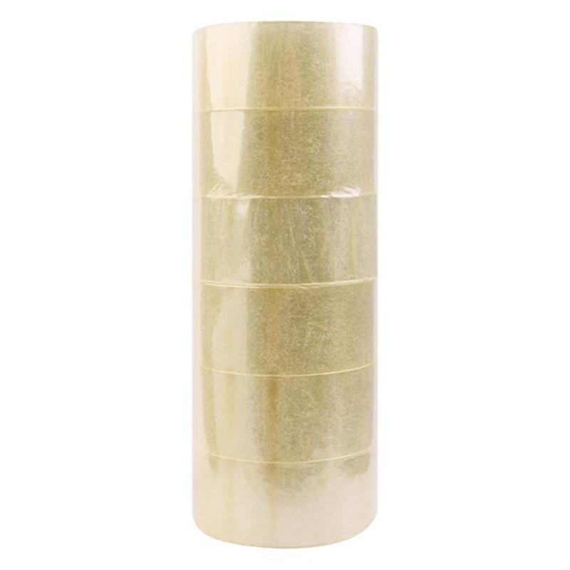 Combo 18 cuộn băng keo trong loại lớn 48mm, dài 100 Yard, nặng 1.100gr/6 cuộn