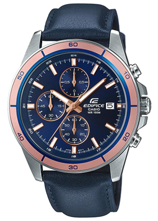 Đồng hồ nam dây da Casio EDIFICE EFR-526L-2AVUDF