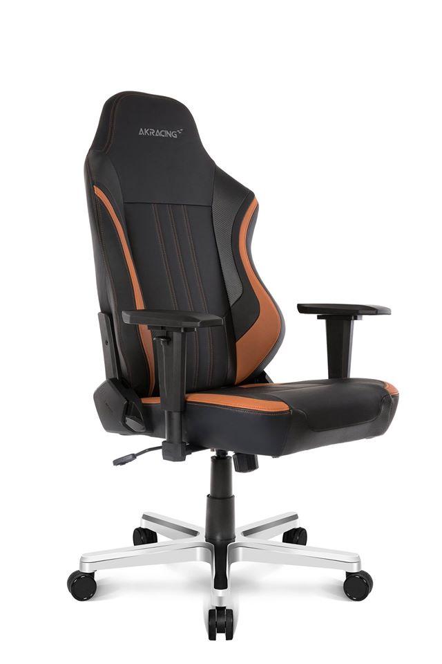 Ghế gaming cao cấp Akracing K500-1 Brown - Hàng chính hãng