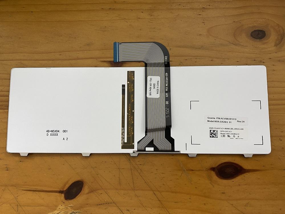 Bàn phím dành cho Laptop Dell vostro V3450 có Đèn Nền - backlit