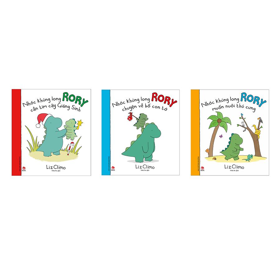 Combo Trọn Bộ 3 Cuốn Nhóc Khủng Long Rory
