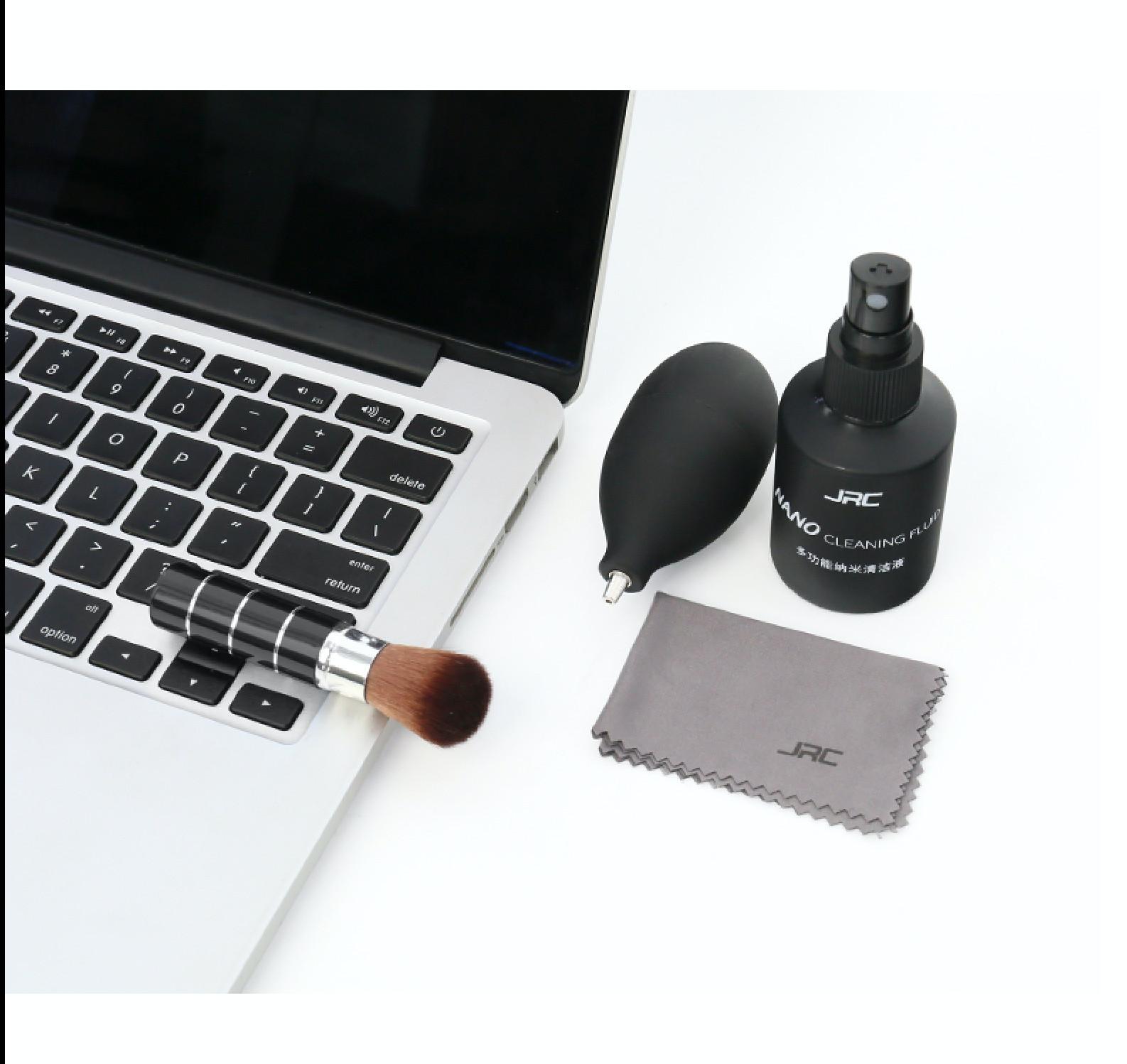 Combo dung dịch nano lau chùi vệ sinh màn hình, bàn phím cho máy tính, laptop, macbook - Hàng Chính Hãng
