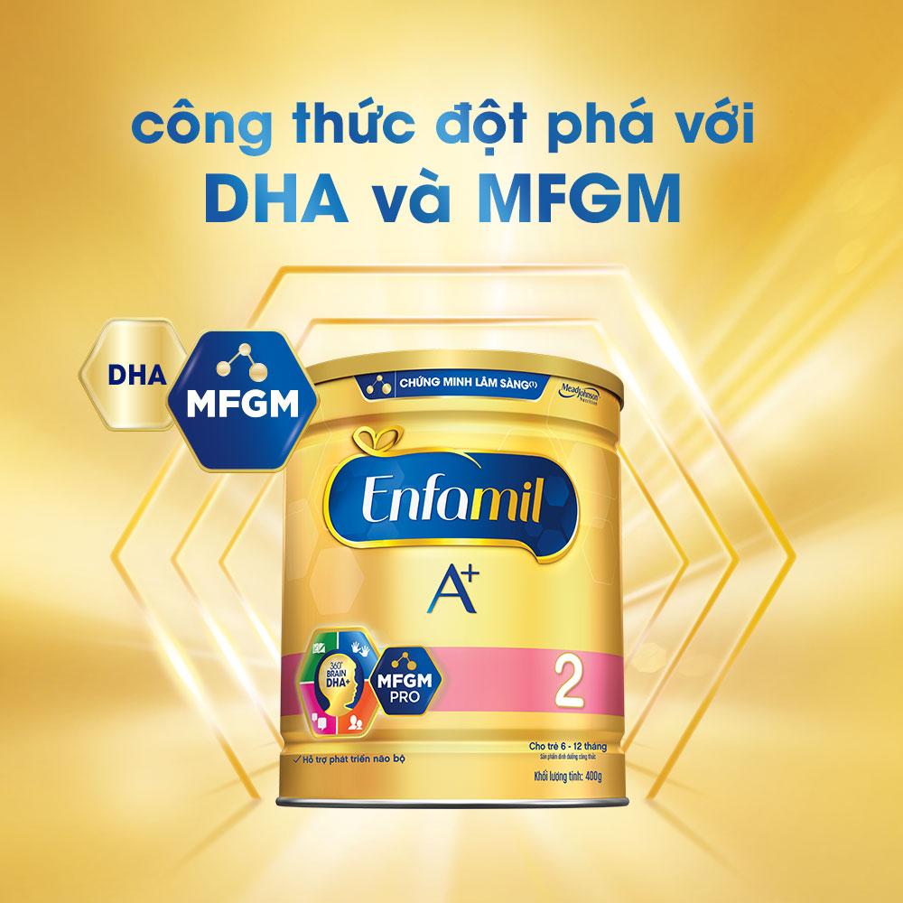Sữa Bột Enfamil A+ 2 (400g)