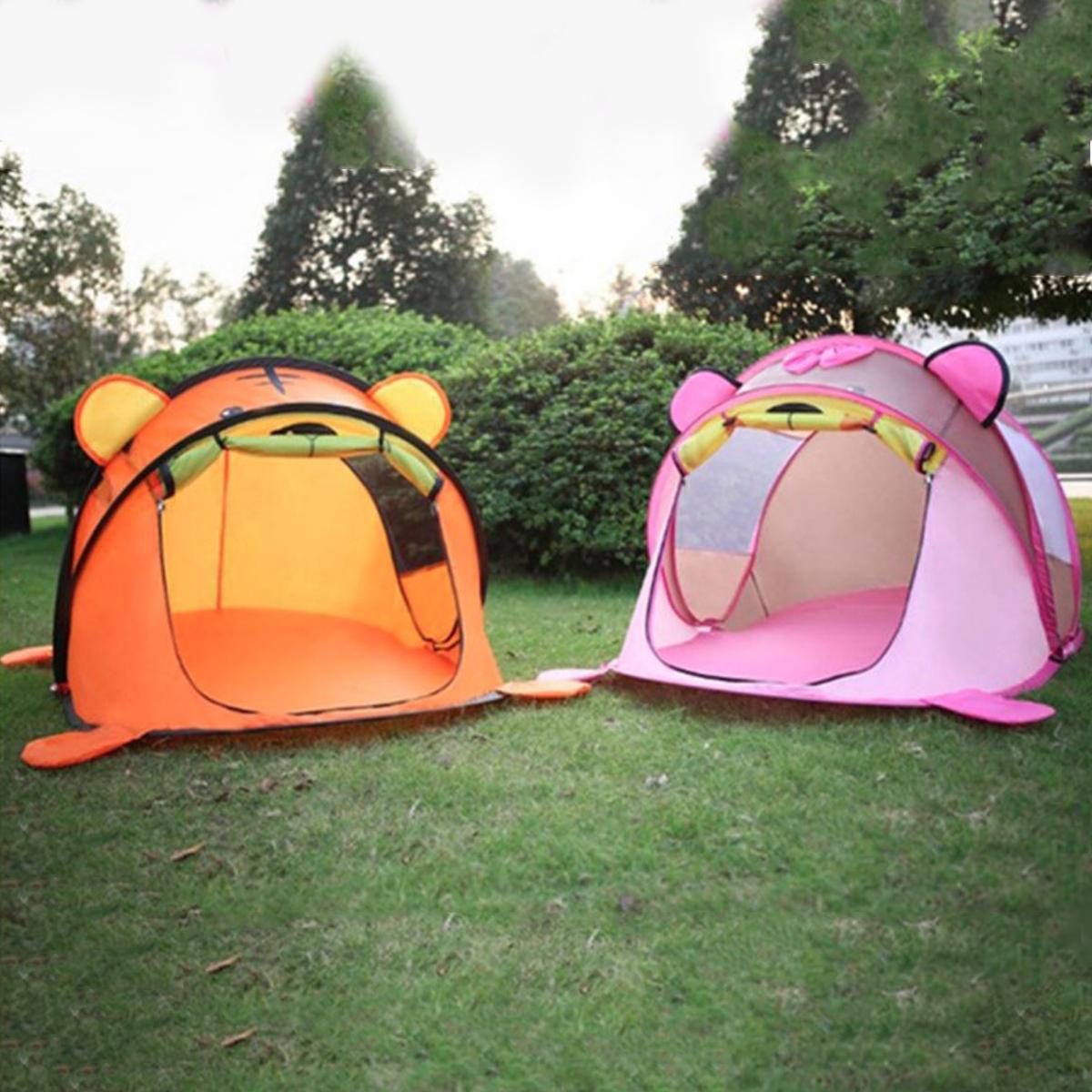 Lều Cho Bé - Lều Chơi Hình Gấu Baby - Chống Muỗi An Toàn, Thiết Kế Tự Bung, Dễ Dàng Di Chuyển, Tháo Rời, Cất Gọn.