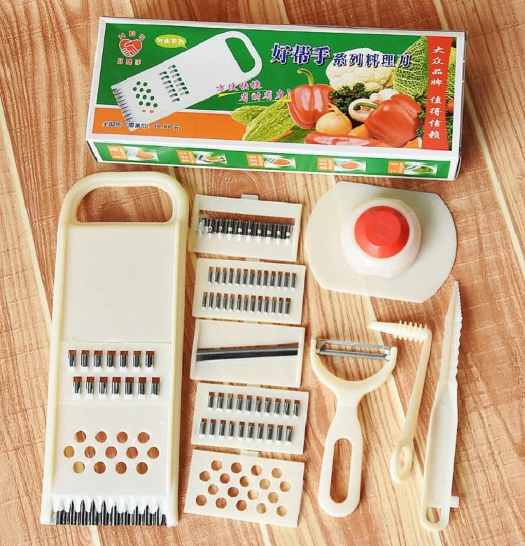 Bộ dụng cụ cắt rau củ đa năng 11 món