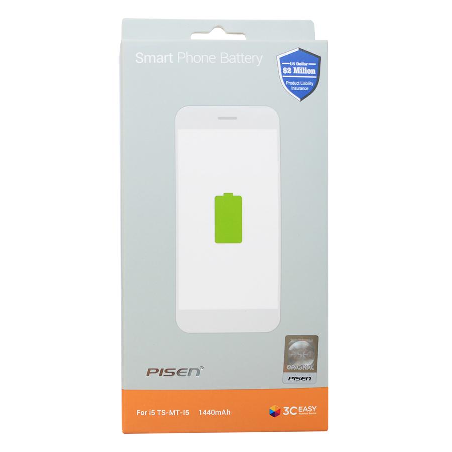 Pin iPhone 5C / 5S Pisen (Trắng) - Hàng Chính Hãng
