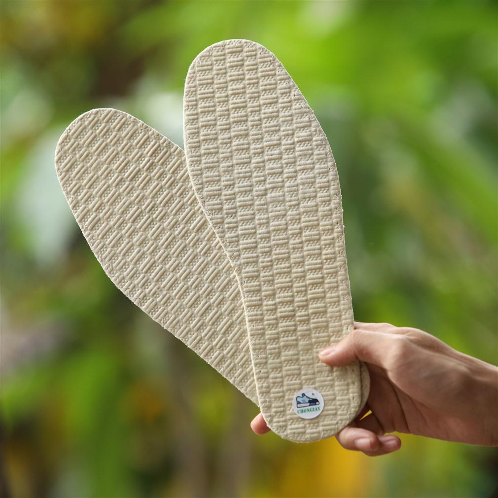 Cặp lót giày vải cotton LOT18 CHONGIAY thoáng mát và êm chân