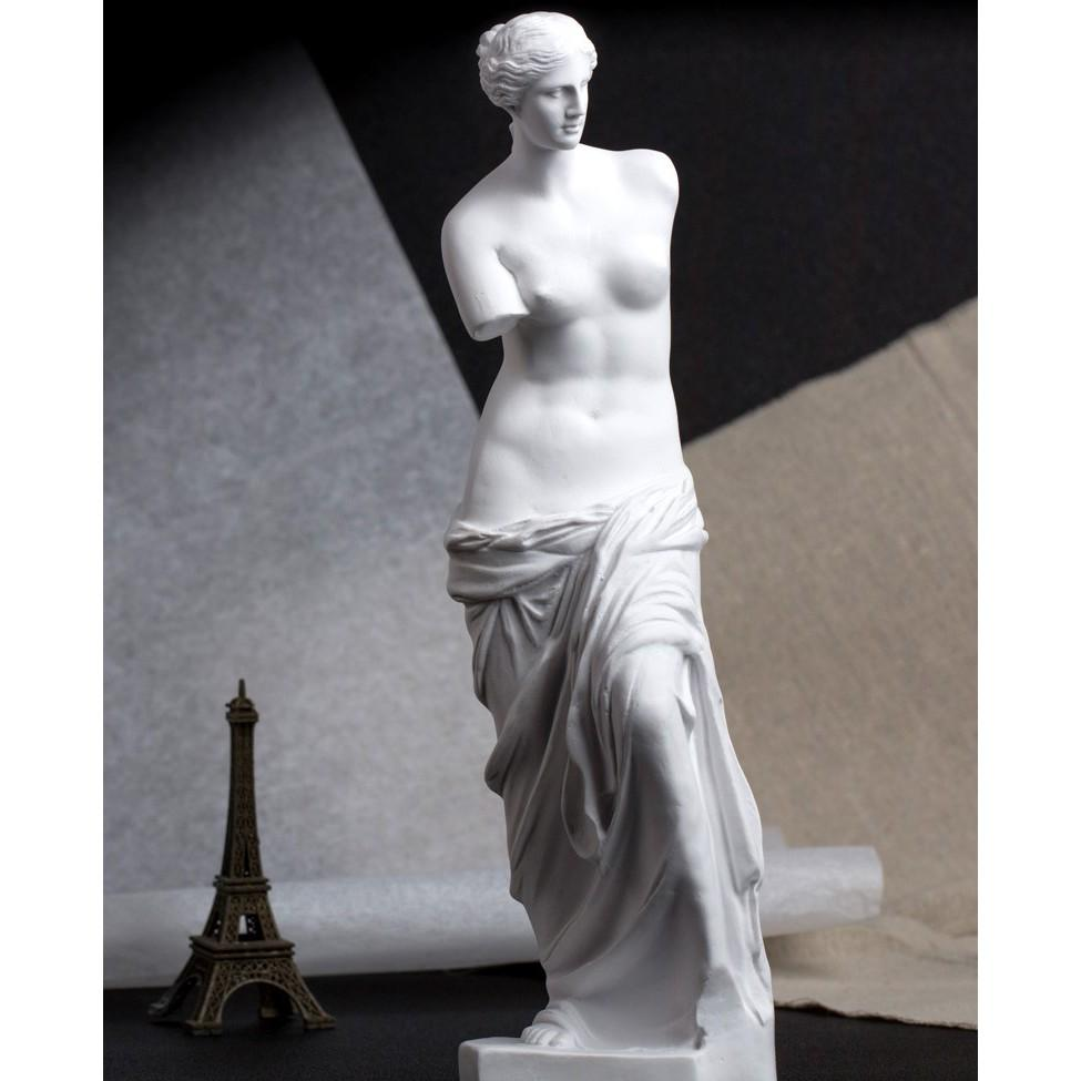 Tượng Hy Lạp nữ thần Vệ nữ (Venus de Milo)  29cm