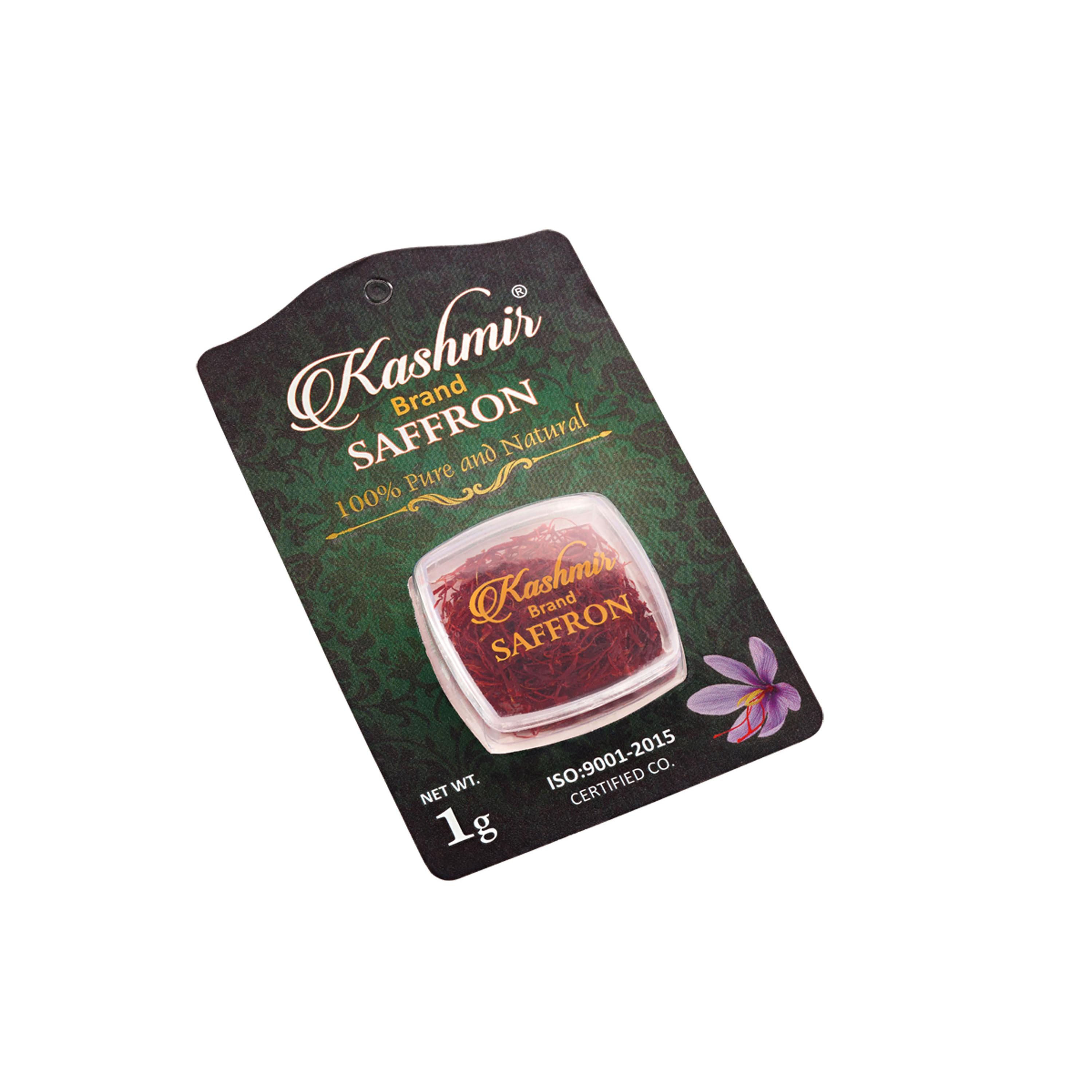 Nhụy hoa nghệ tây Kashmir Brand Saffron 1g