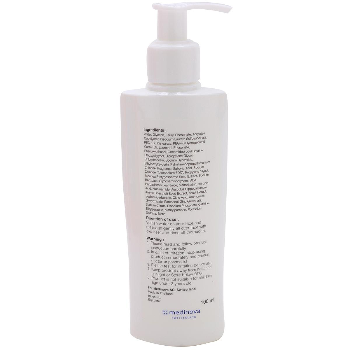 Combo Sữa Rửa Mặt Ngăn Ngừa Mụn Hiruscar Anti Acne Clenaser 100ml Kèm Bông Tẩy Trang (Giao màu ngẫu nhiên)
