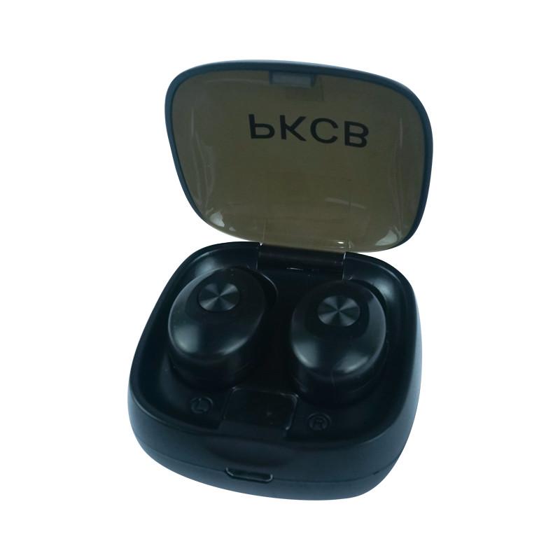 Tai Nghe Nhét Tai Không Dây Bluetooth TWS Kèm Hộp Sạc PKCB08 - Hàng Chính Hãng