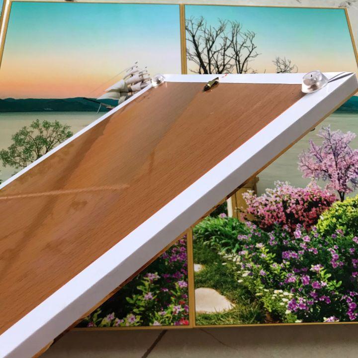 Tranh treo tường, tranh đồng hồ NT158 bộ 3 tấm ghép