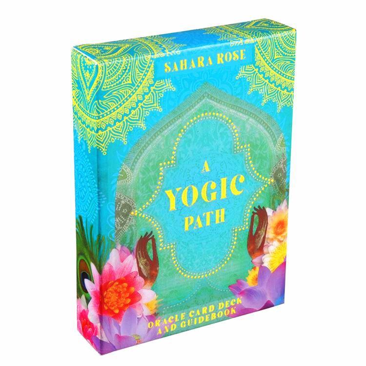 Combo Bộ Bài Bói Tarot A Yogic Path Oracle Deck Cao Cấp và Túi Nhung Đựng Tarot và Khăn Trải Bàn Tarot