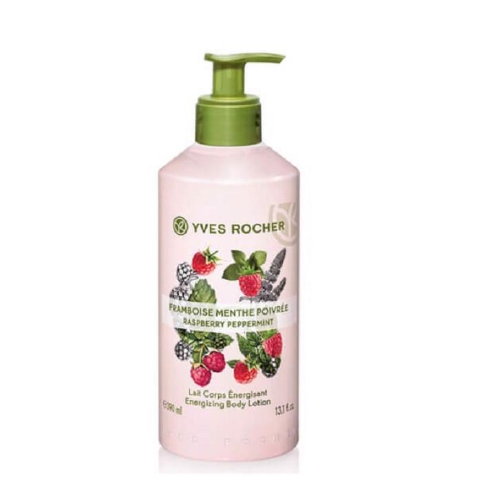 Sữa Dưỡng Thể Yves Rocher Hương Raspberry Peppermint Body Lotione 390ml