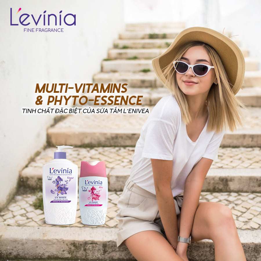 Sữa Tắm L'evinia Trắng Mịn & Trẻ Hóa Da Collagen++ 700g - TẶNG 1 Kem Tẩy Lông CARISA 100g nhập khẩu từ Tây Ban Nha (mẫu ngẫu nhiên)