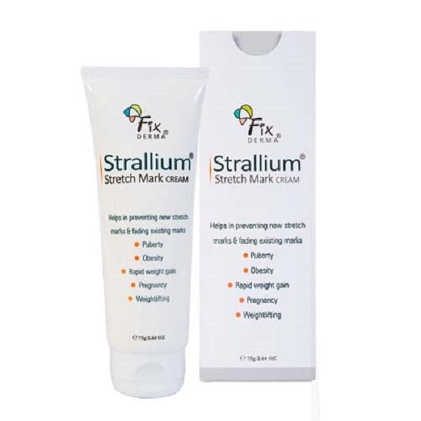 Kem làm mờ vết rạn da Fixderma Strallium Stretch Mark Cream (75g)