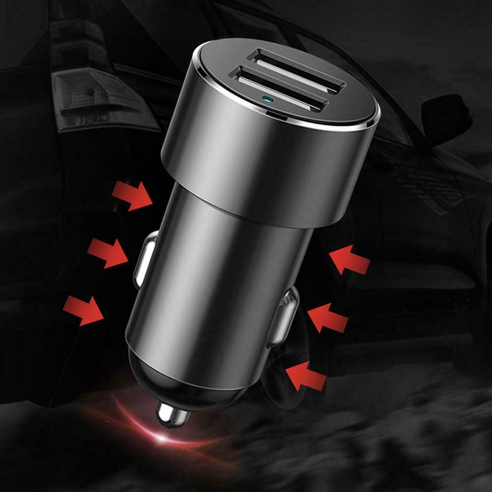 Củ sạc trên oto chia tẩu Baseus High efficiency one tow two cigarette lighter (CRDYQ-01) - Hàng chính hãng