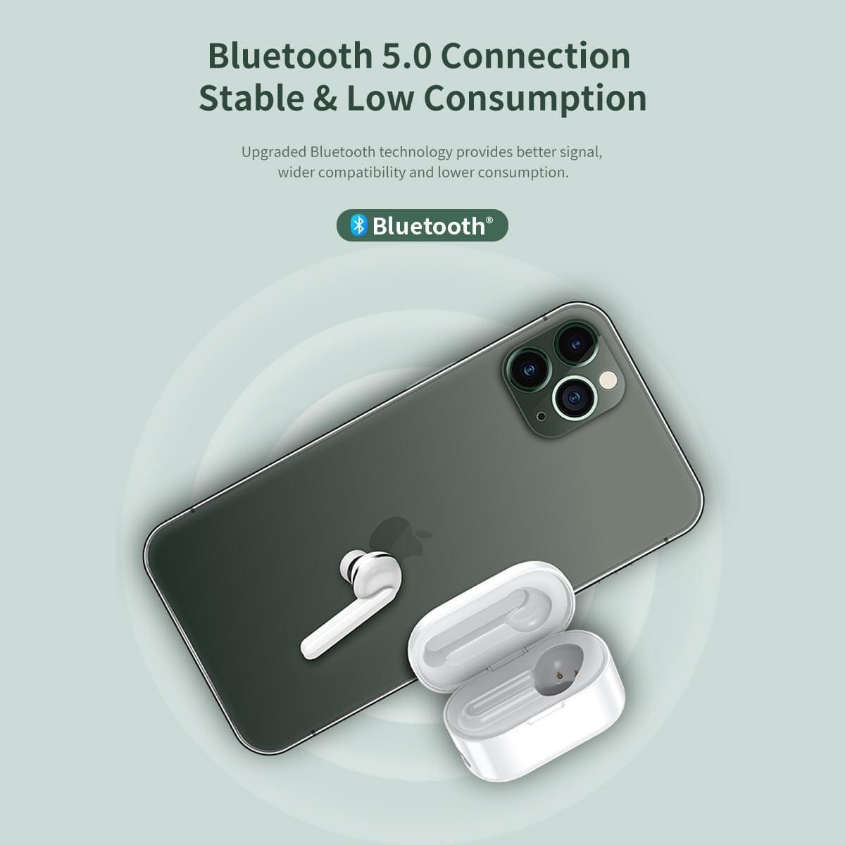 Tai nghe không dây Mono Truewireless Rockspace EB72 earphone - hàng chính hãng