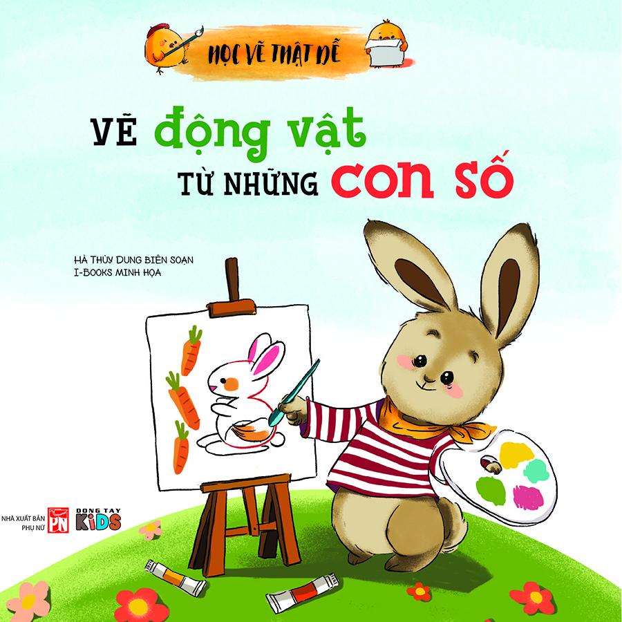 Học Vẽ Thật Dễ - Vẽ Động Vật Từ Những Con Số
