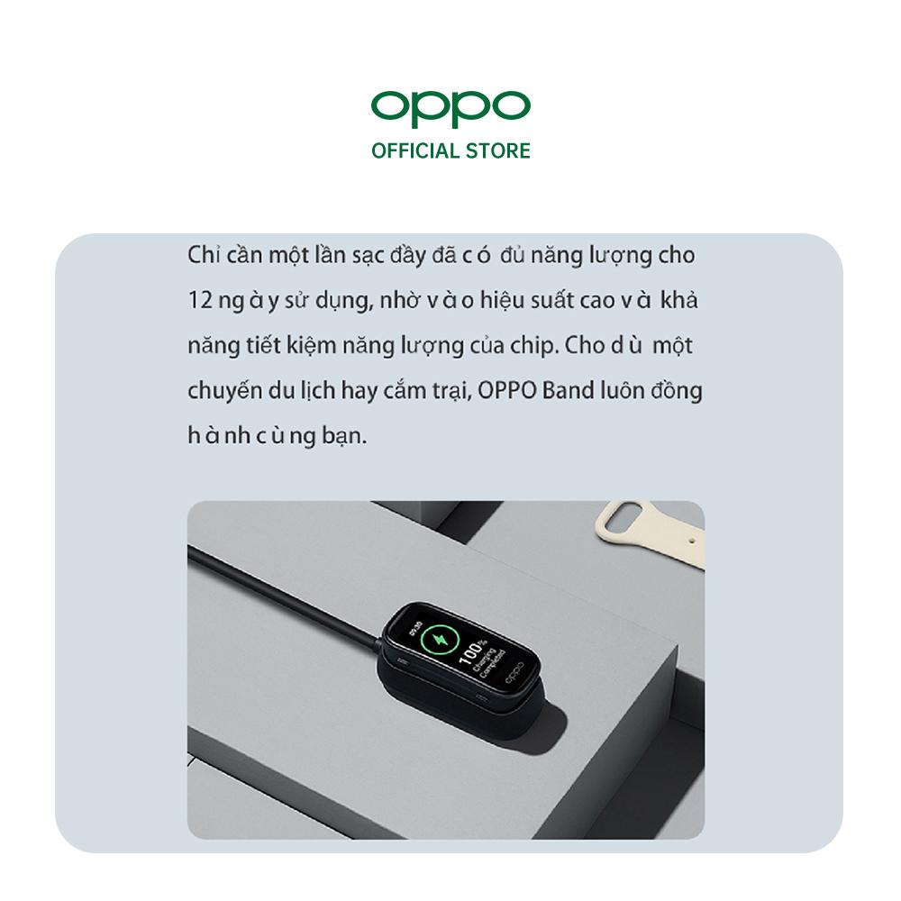 Combo Sản Phẩm OPPO (Đồng Hồ OPPO Band + Tai Nghe OPPO Enco Buds) - Hàng Chính Hãng