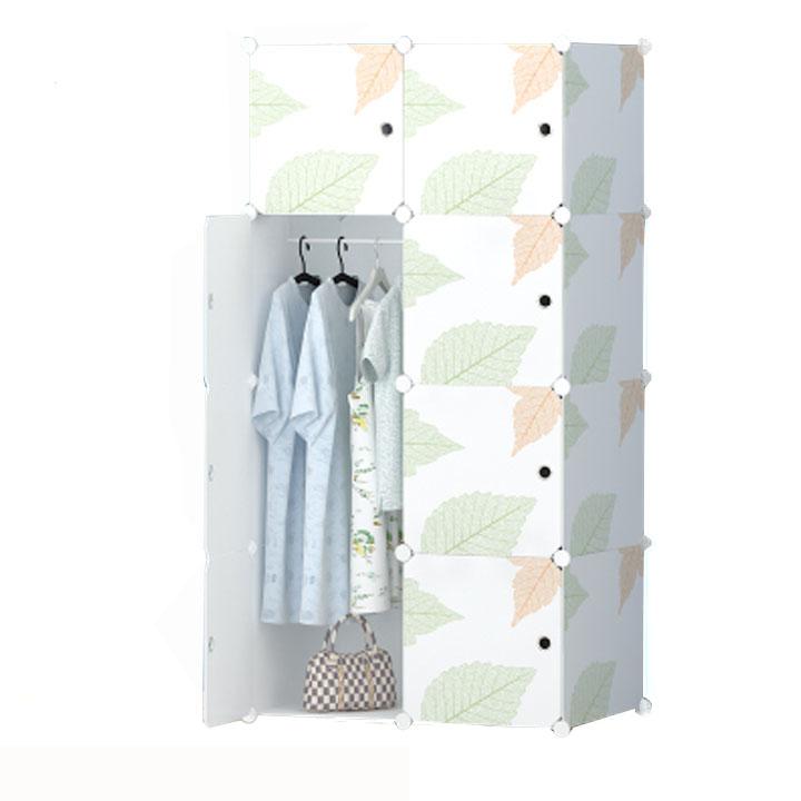 Tủ nhựa ghép 8 ngăn ( 74 x 47 x 148cm )