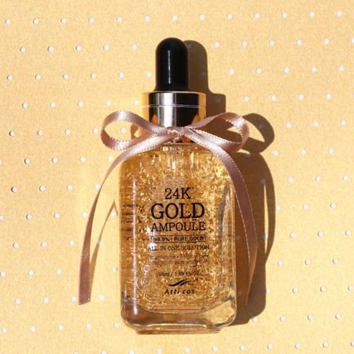 Serum dưỡng trắng Atticos 24K Gold Ampoule - 50ml