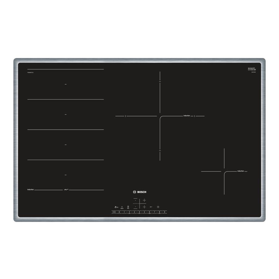 Bếp Âm Từ Đa Vùng Nấu Bosch PXE845FC1E (79.5cm) - Hàng Chính Hãng