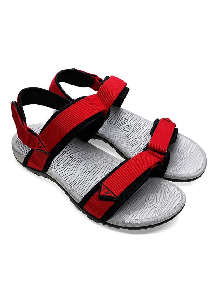 Giày sandal nam quai dù thời trang cao cấp Việt Thủy - A016-đỏ